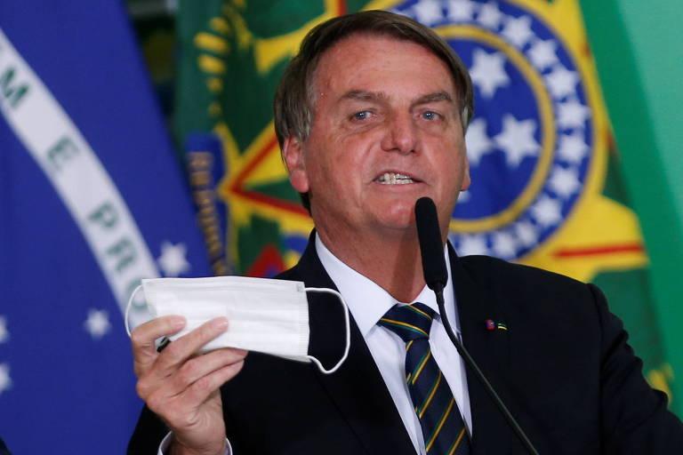 Globo e Record deixam rivalidade histórica de lado e se unem para criticar Bolsonaro no Jornal Nacional e no Fala Brasil (Foto: Reprodução)