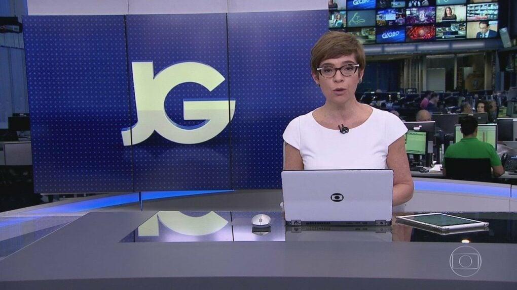 Renata Lo Prete é a titular do Jornal da Globo (Reprodução)