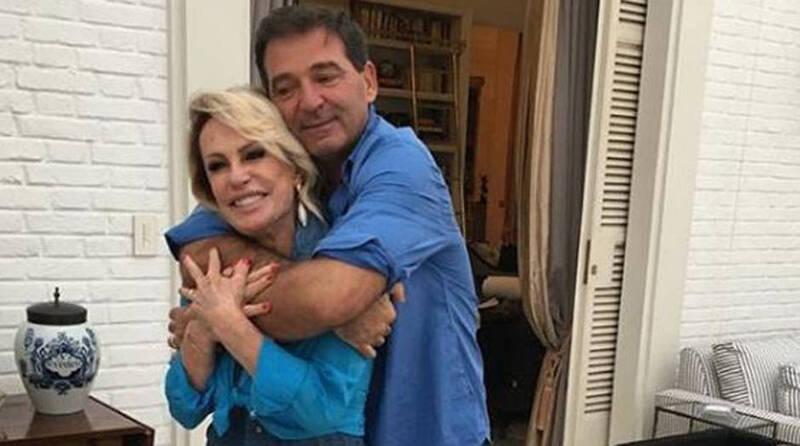 Johnny Lucet abriu o jogo sobre casamento com Ana Maria Braga (Reprodução)