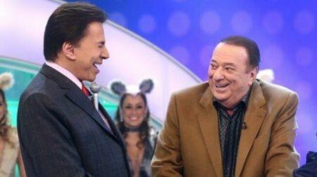 Silvio Santos e Raul Gil (Reprodução)