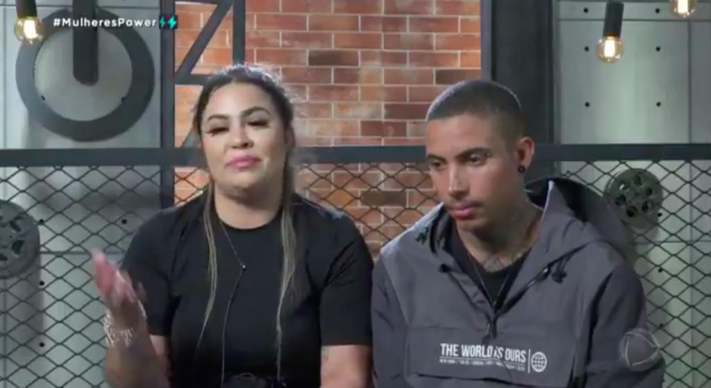 """Power Couple: Mari Matarazzo chora e desiste de fazer prova: """"Não consigo"""" (Reprodução/RecordTV)"""