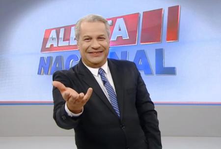 RedeTV! caiu sem Sikêra Jr no Alerta Nacional (Foto: Reprodução)