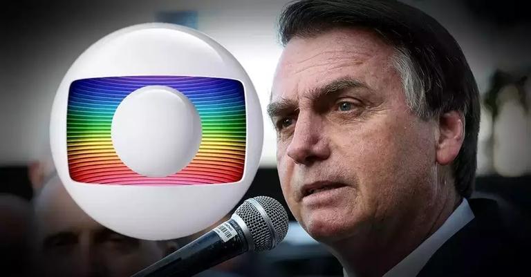 Globo repudiou atitude do presidente Bolsonaro (Reprodução)