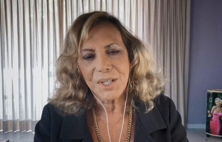 Arlete Salles em entrevista ao Conversa com Bial (Foto: Reprodução)