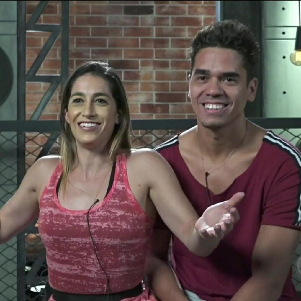 Dany Hypolito e Fábio Castro (Reprodução/RecordTV)