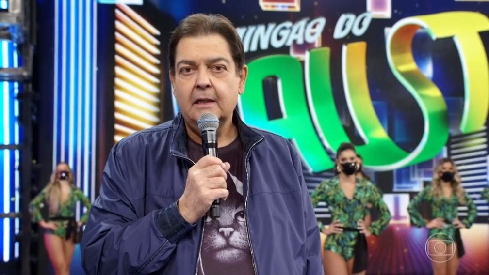 Faustão é internado, gravações são cancelas e Globo coloca Tiago Leifert para apresentar Domingão (Foto: Reprodução)