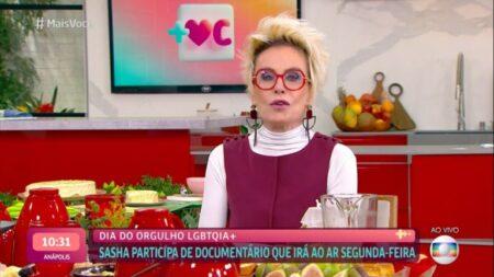 Ana Maria Braga derrubou audiências do Mais Você da Globo (Foto: Reprodução)