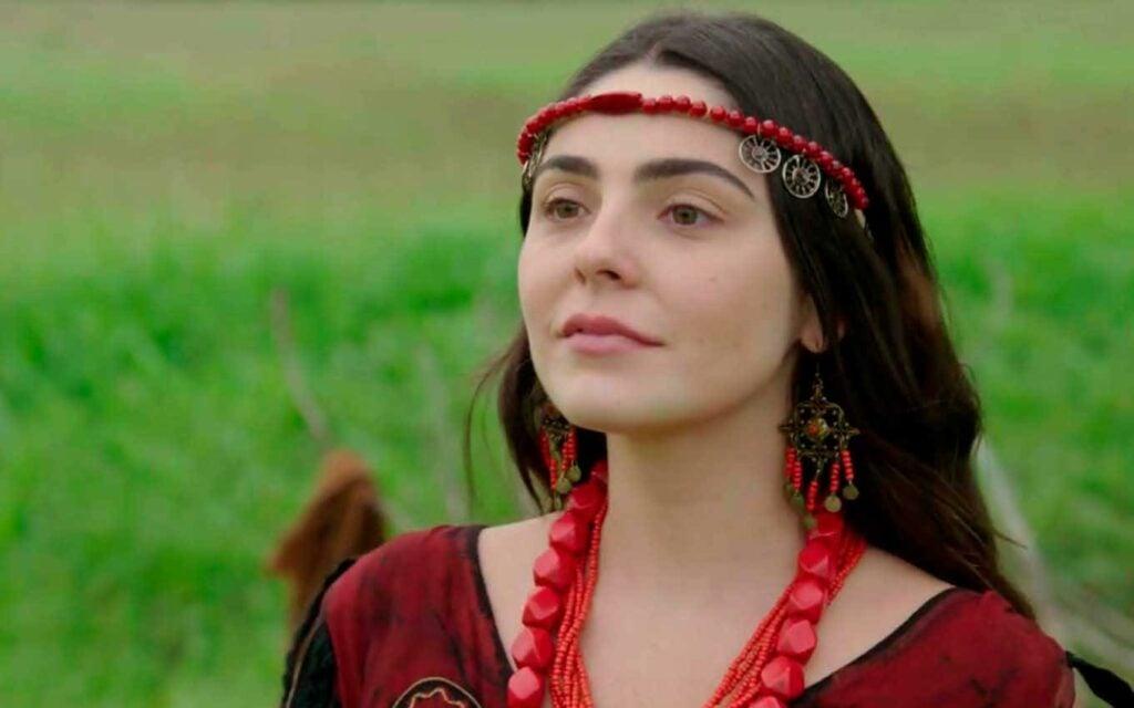 Personagem Uriala (Marcela Barrozo) em Gênesis