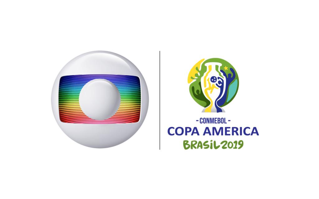 Globo exibiu Copa América em 2019 (Reprodução)
