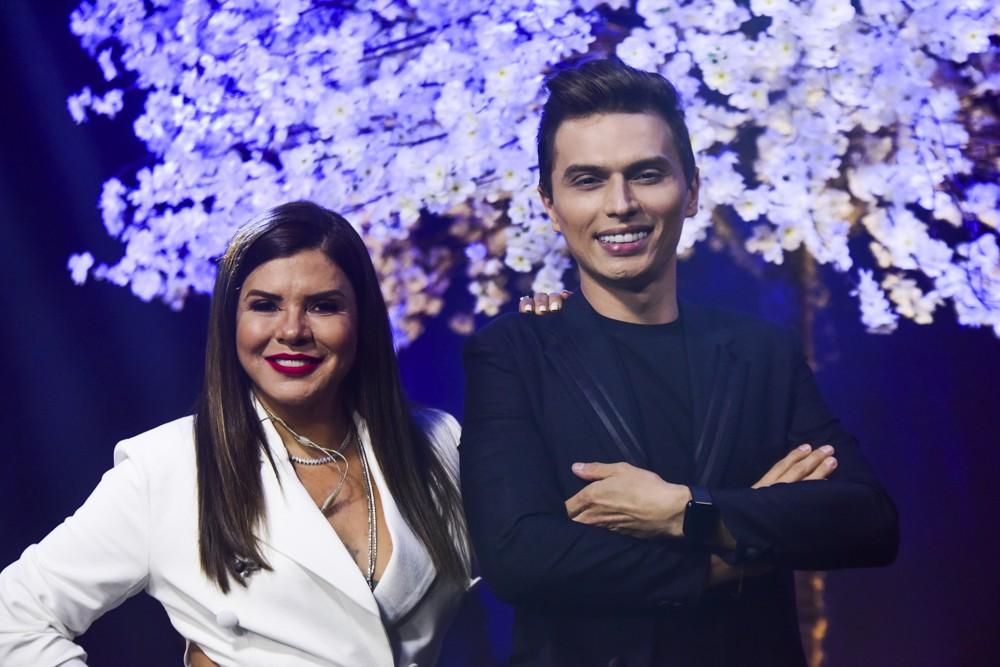 Mara Maravilha e Gabriel Torres (Foto: Leo Franco/AgNews)