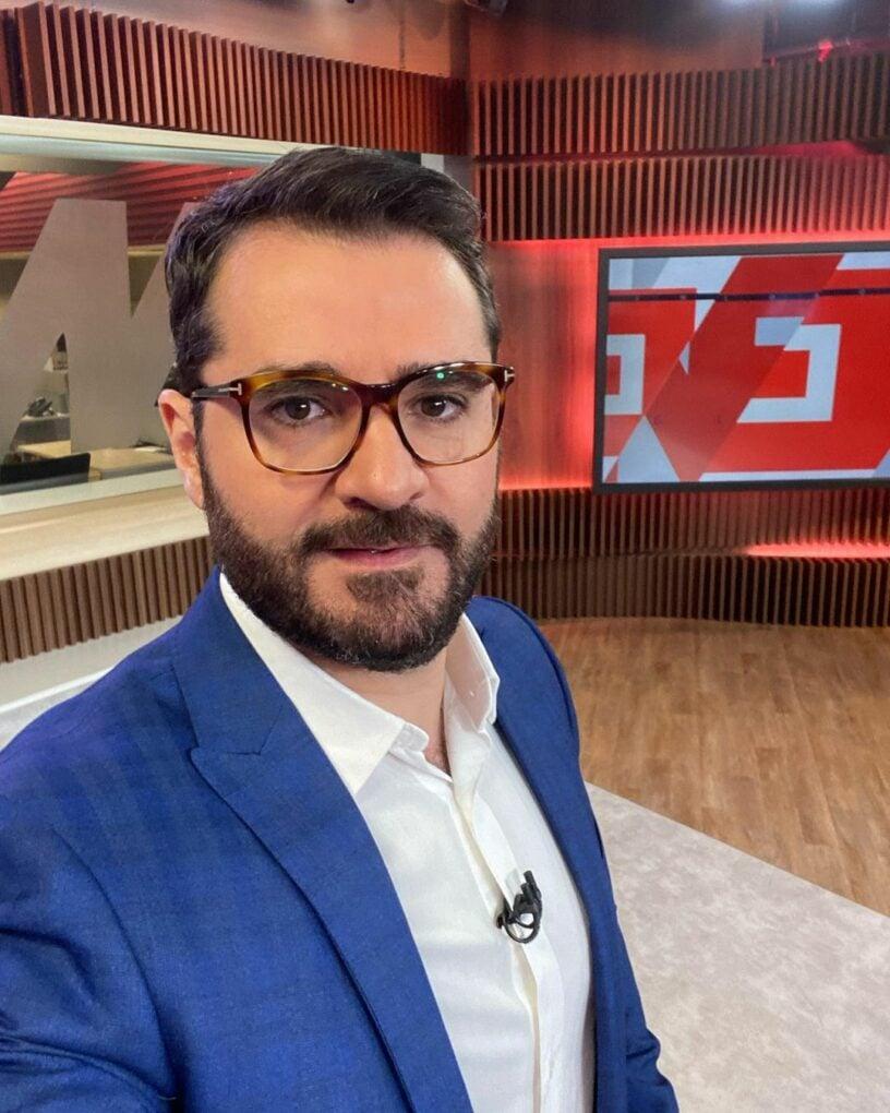 Marcelo Cosme, jornalista da Globo News (Reprodução/Instagram)