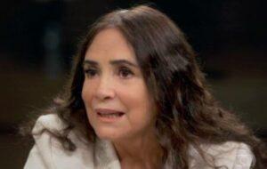 Regina Duarte em entrevista (Foto: Reprodução/Globo)