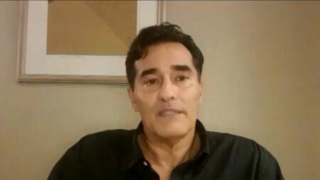 """Após internação por Covid-19, Luciano Szafir confessa: """"Eu achei que ia embora"""" (Reprodução/Globo)"""