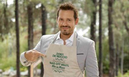 Dony de Nuccio venceu a primeira temporada Bake Off Brasil Celebridades (Foto: Reprodução)