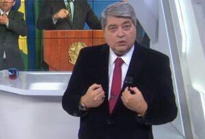 Datena choca ao revelar doença gravíssima ao vivo no Brasil Urgente (Foto: Reprodução)