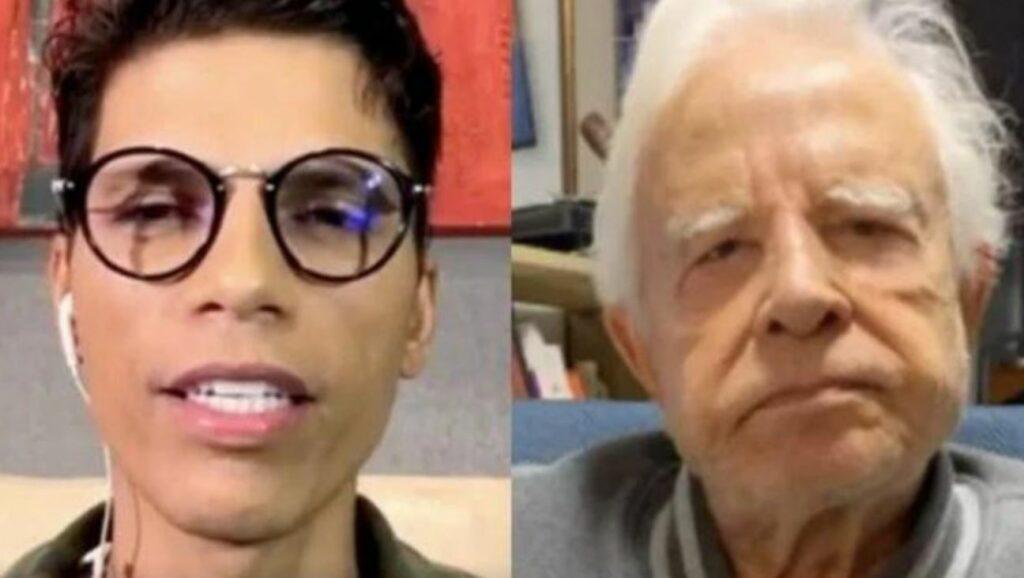 Filho do famoso ex-apresentador do Jornal Nacional da Globo, Cid Moreira fala sobre situação com o pai (Foto: Reprodução)