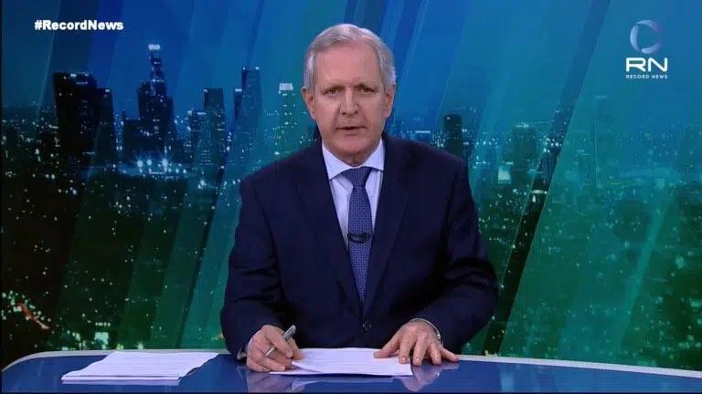 Augusto Nunes sai da Record News após uma semana assumindo o jornal