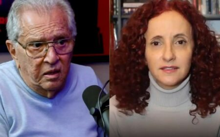 Carlos Alberto de Nóbrega e Gorete Milagres se alfinetam nas redes sociais: 'Pior colega'