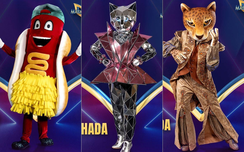 Primeiras fantasias que serão usadas pelos participantes do The Masked Singer, da Globo (Foto: Reprodução)