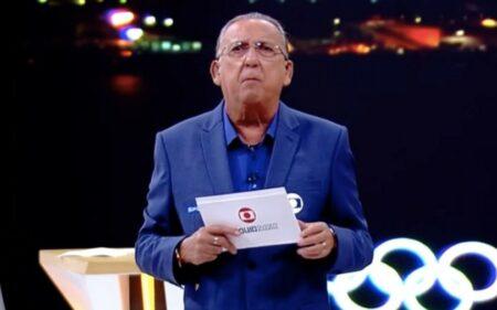 Reação de Galvão Bueno com prata na Olimpíada faz Globo bater Record e SBT