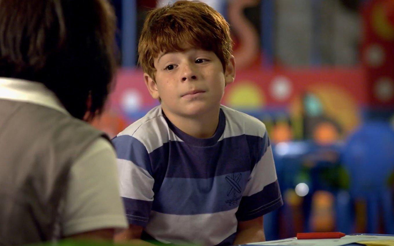 Interprete de Tiago em A Vida da Gente da Globo, Kaic fala sobre acidente grave de carro aos 13 anos (Foto: Reprodução)
