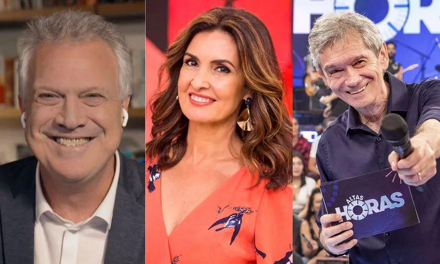 Biel, Fátima e Serginho são alguns dos principais artistas da Globo (Reprodução)