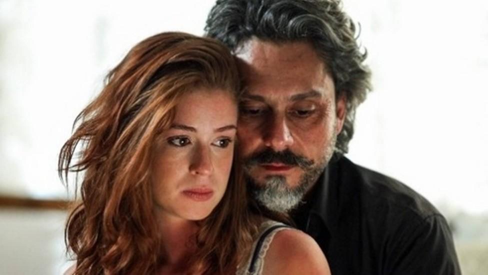 José Alfredo termina com Isis em Império após descobrir 'traição' na trama da Globo (Foto: Reprodução)