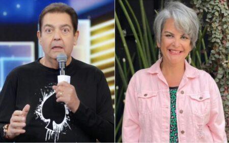 Leonor Corrêa foi contratada pelo irmão e apresentador Faustão (Foto: Reprodução)