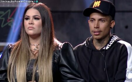 Correndo perigo no reality show da Record, no Power Couple Brasil 5, Mari perde a paciência e se rebela contra rivais (Foto: Reprodução)