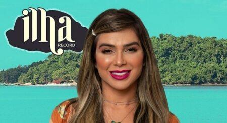Ilha Record: Desatenta, Nadja Pessoa dá spoiler de participante finalista do reality