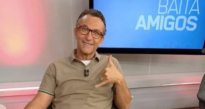 O apresentador do Os Donos da Bola, Craque Neto (Foto: Reprodução)