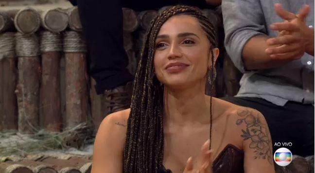 Paula Amorim na final de No Limite 5 (Foto: Reprodução)