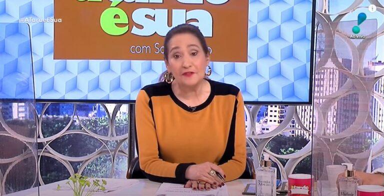 Jornalista Sonia Abrão da RedeTV (Foto: Reprodução)