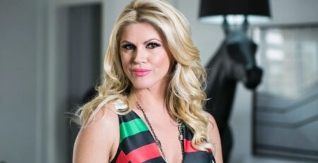 Val Marchiori segue trabalhando para a nova temporada de Mulheres Ricas (Foto: Reprodução)