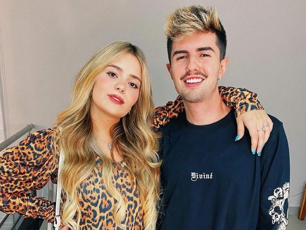 A famosa ex-integrante do BBB, reality show da Globo, Viih Tube termina namoro com Bruno Magri (Foto: Reprodução)
