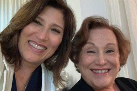 Após final de A Vida da Gente, Beth Goulart homenageia a mãe, Nicette Bruno (Reprodução)