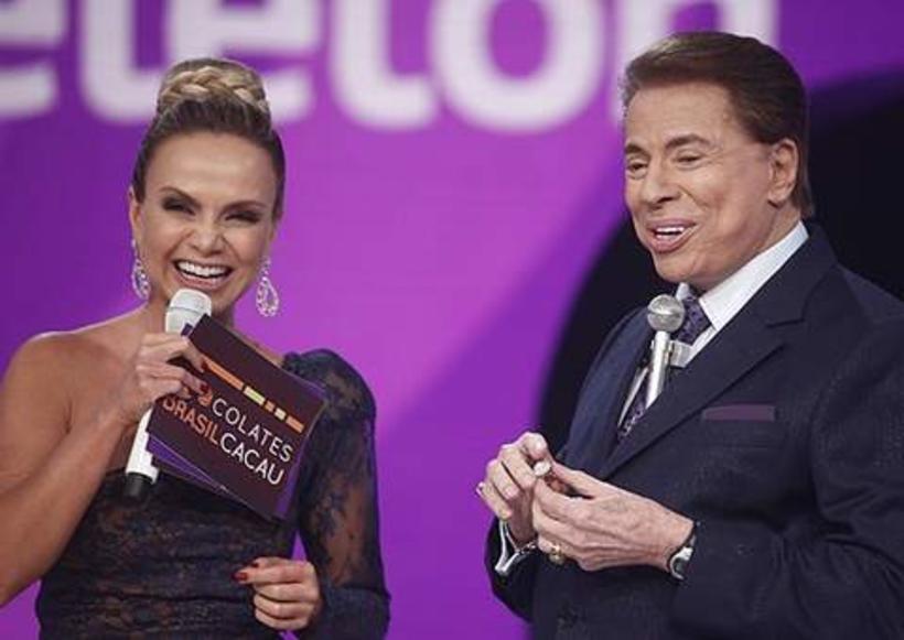 Eliana e Silvio Santos deixam programa de Rodrigo Faro para trás e detonam Record (Foto: Reprodução)