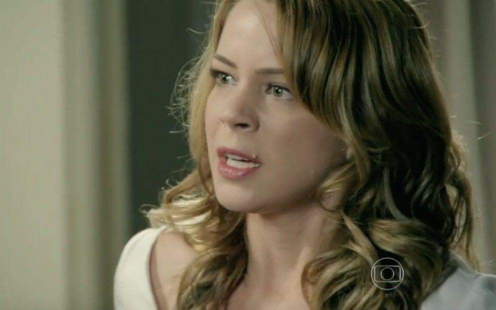 Império: Maurílio descobre mentira de Cristina e exige sua demissão