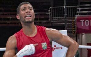 Boxeador xinga na Globo (Foto: Reprodução)