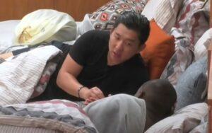 Pyong Lee na Ilha Record (Foto: Reprodução)