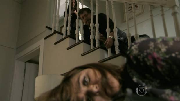 Jurema e Reginaldo morrem na trama da Globo vítimas da Cora (Foto: Reprodução)