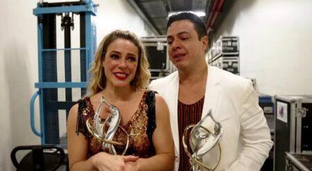 Paolla Oliveira se emociona na final do Super Dança dos Famosos (Foto: Reprodução/Globo)