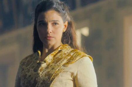 Nos Tempos do Imperador: Pilar volta ao Brasil e Zayla fica cara a cara com a rival (Reprodução/Globo)