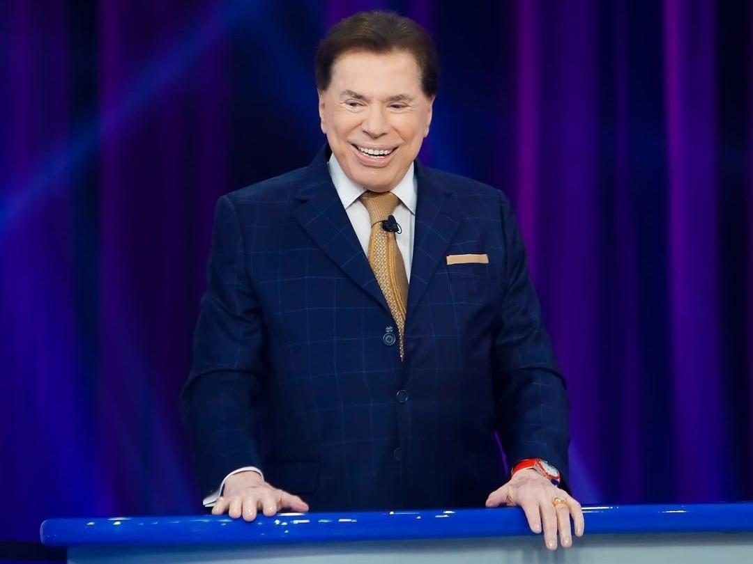 O famoso apresentador do SBT, Silvio Santos se mantém com Pra Ganha é Só Girar (Foto: Reprodução)