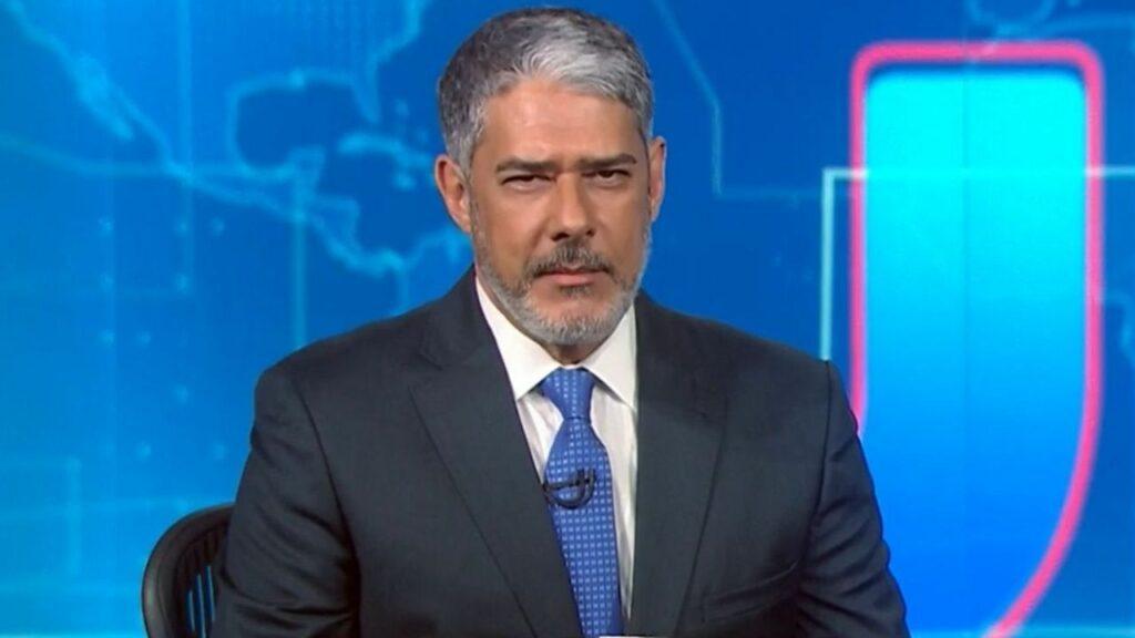 William Bonner no Jornal Nacional (Foto: Reprodução)