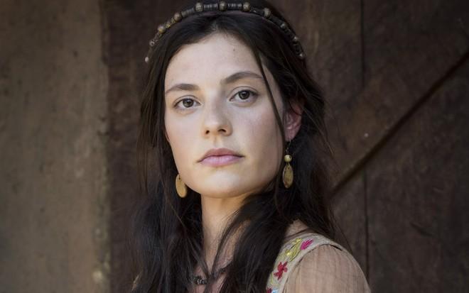 Triste por Zilpa, Lia pedirá que Jacó se deite com criada na trama da Record (Foto: Reprodução)