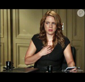 Leandra Leal em Império como Cristina (Foto: Reprodução)