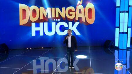 Luciano Huck estreou o Domingão com Huck (Reprodução/Globo)