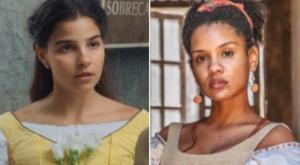 Nos Tempos do Imperador: Pilar volta ao Brasil e Zayla fica cara a cara com a rival (Reprodução)
