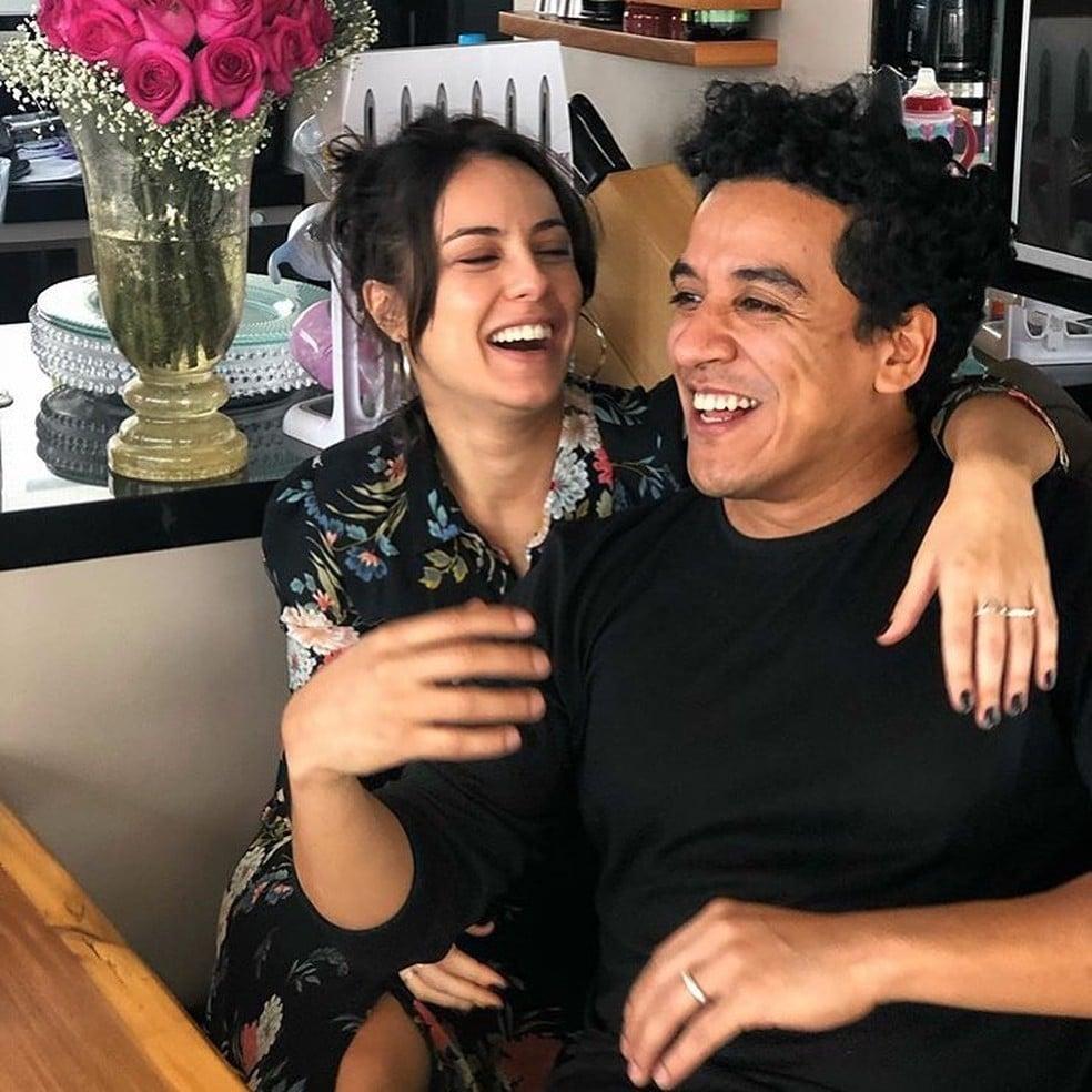 Andreia Horta e Marco Gonçalves (Foto: Reprodução)